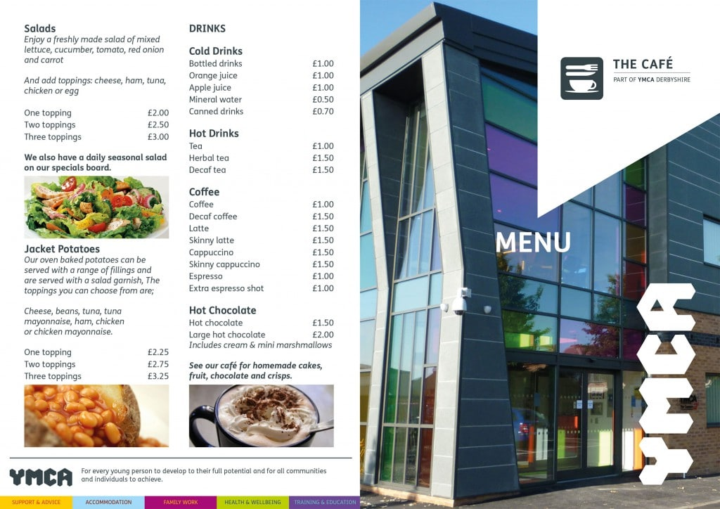 The Community Hub Cafe Menu