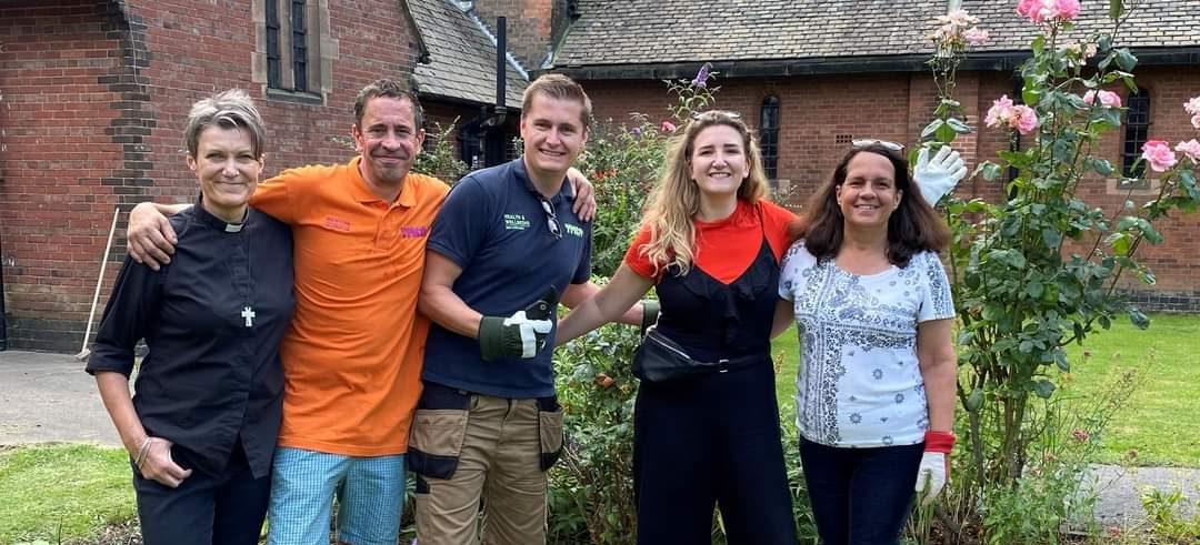 Volunteer with YMCA Derbyshire