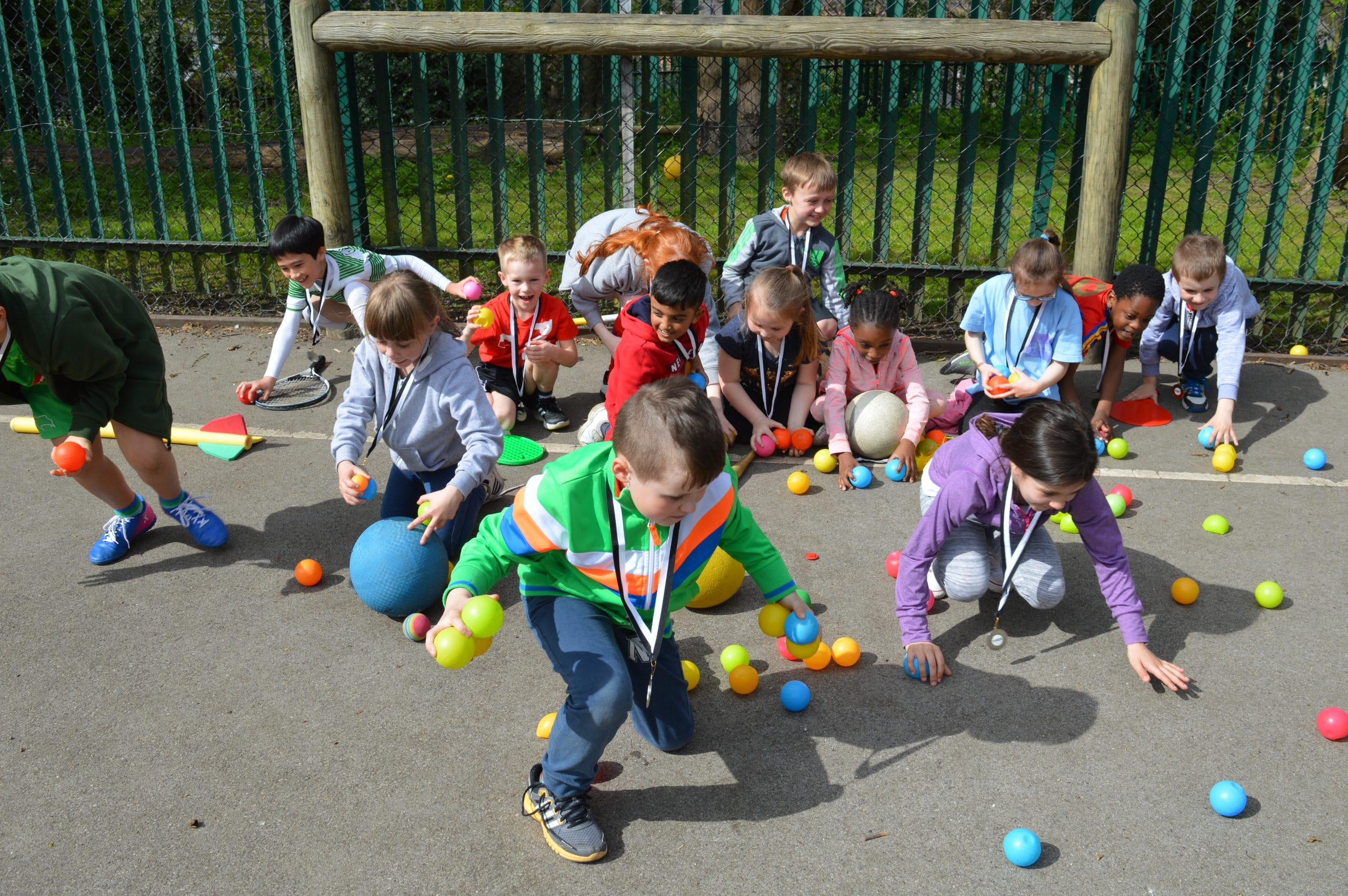 Children enjoying afterschool fun