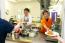 YMCA Derbyshire Power Pioneers serving meals for YMCA residents