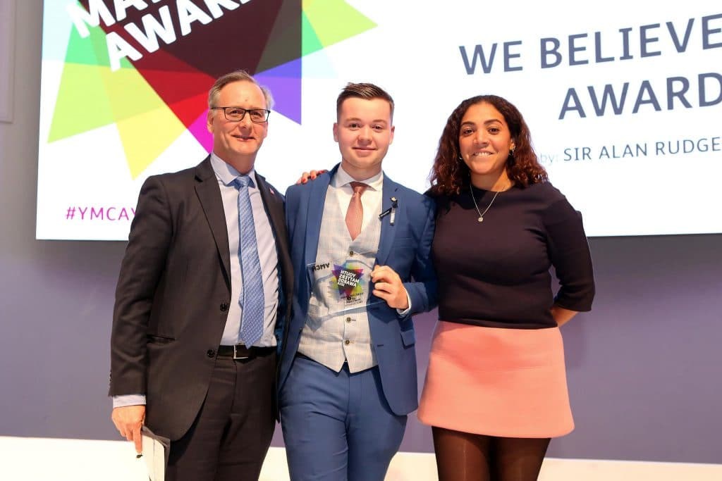 Drew's Story - winning at Youth Matters Awards