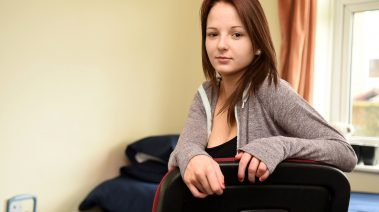Young person at YMCA Derbyshire